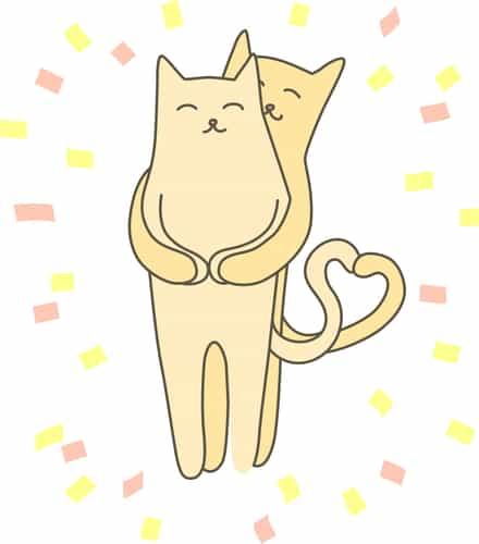 Marcujące koty to koty w rui.